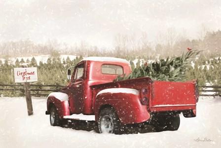 Christmas Tree Pick by Lori Deiter art print