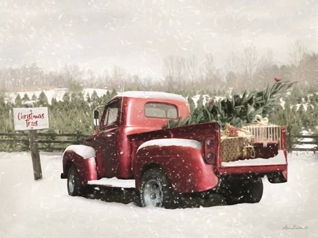 Winter Stop by Lori Deiter art print