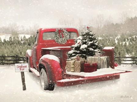 Truck Full of Presents by Lori Deiter art print