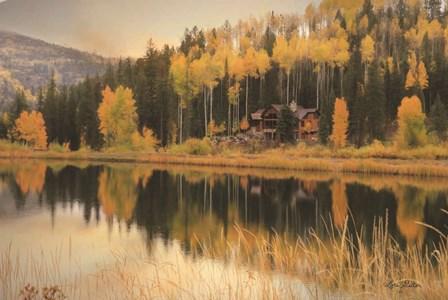 Durango Reflections by Lori Deiter art print