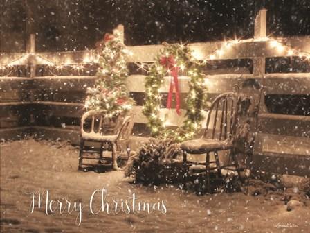 Merry Christmas by Lori Deiter art print
