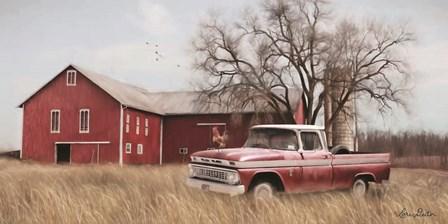 Western Ohio Barn by Lori Deiter art print