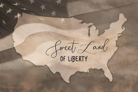 Sweet Land of Liberty by Lori Deiter art print