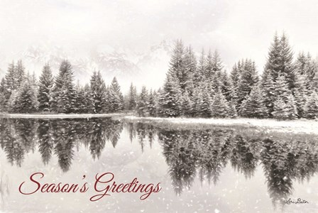 Schwabachers Seasons Greetings by Lori Deiter art print