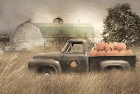 Happy Harvest Truck by Lori Deiter art print