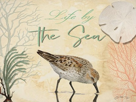 Life by the Sea by Sheila Elsea art print