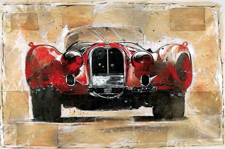 Vintage Red by Marta Gottfried Wiley art print