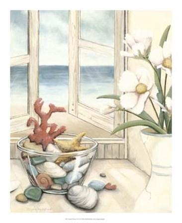Beach House View II by Megan Meagher art print