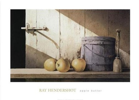 Apple Butter by Ray Hendershot art print