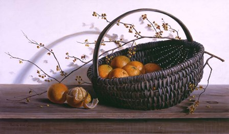 Oranges by Pauline Eble Campanelli art print
