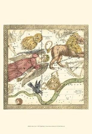 Zodiac Chart I by Vision Studio art print