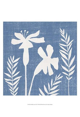 Small Blue Linen II (P) by Megan Meagher art print