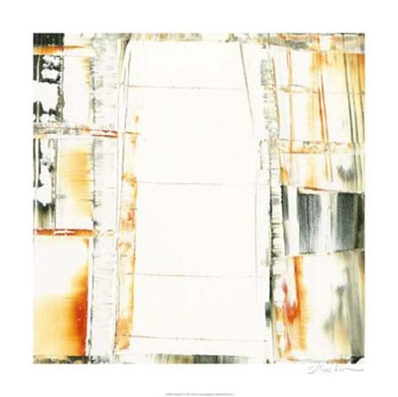 Schematic IV by Sharon Gordon art print