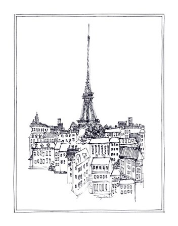 Eiffel Tower by Avery Tillmon art print