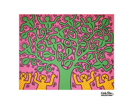 KH01 by Keith Haring art print