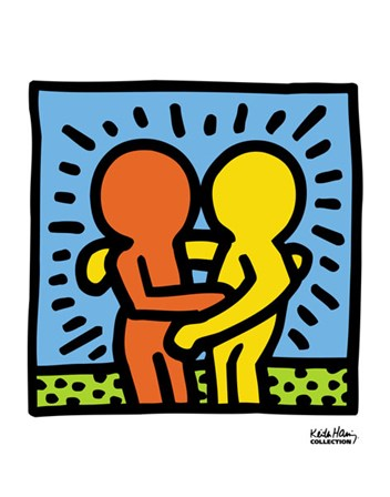 KH05 by Keith Haring art print