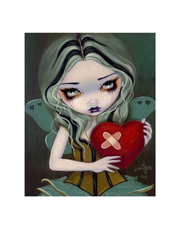 Mending a Broken Heart by Jasmine Becket-Griffith art print
