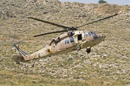 UH-60L Yanshuf helicopter by Ofer Zidon/Stocktrek Images art print