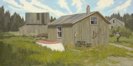 Fisherman's Yard by Charles Fenner Ball art print