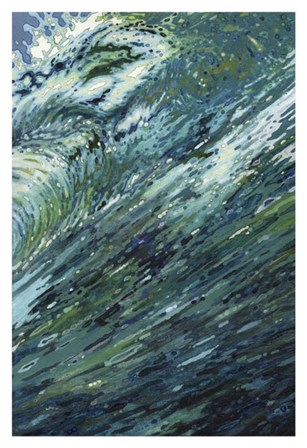 Churning Sea by Margaret Juul art print