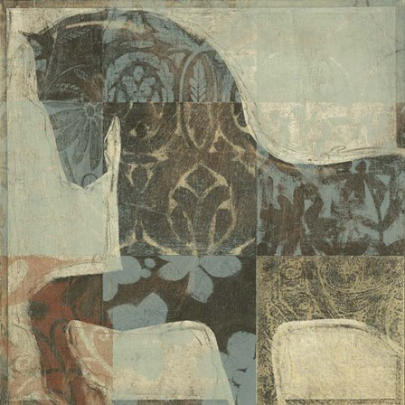 Patterned Horse I by Timothy O'Toole art print