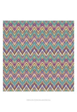 Chevron Waves II by Katia Hoffman art print