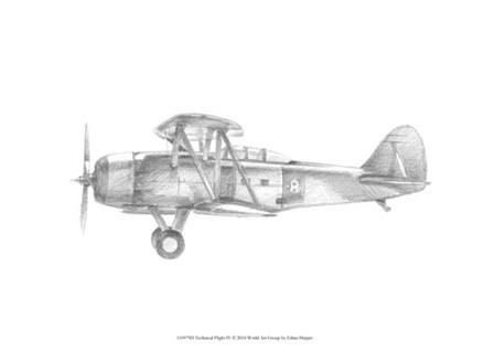 Technical Flight IV by Ethan Harper art print