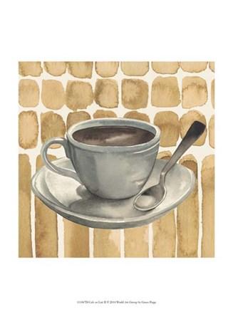 Cafe au Lait II by Grace Popp art print