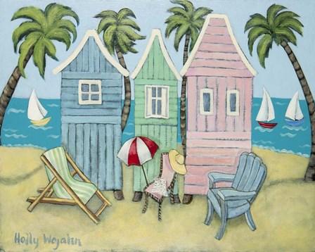 At the Beach II by Holly Wojahn art print