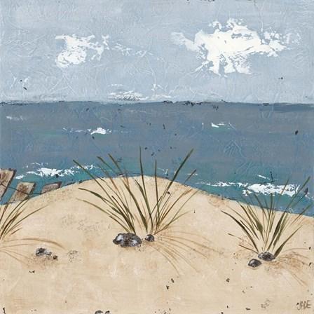 Beach Scene Triptych III by Jade Reynolds art print