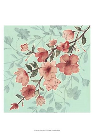 Cherry Blossom Shadows II by Grace Popp art print