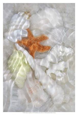 Underwater Light Waves I by Leda Robertson art print
