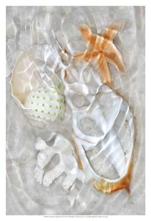 Underwater Light Waves IX by Leda Robertson art print