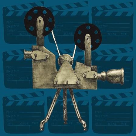 Vintage Film IV by Grace Popp art print