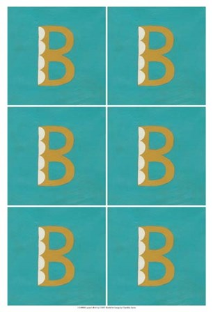 Lucien's B 6-Up by Chariklia Zarris art print