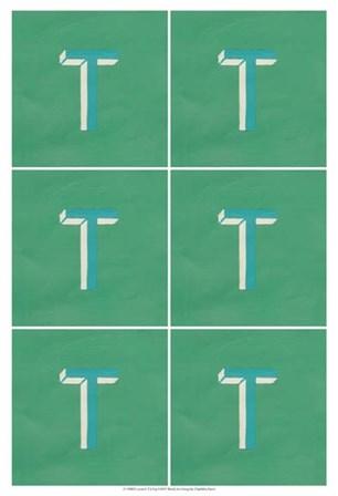 Lucien's T 6-Up by Chariklia Zarris art print