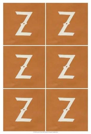 Lucien's Z 6-Up by Chariklia Zarris art print