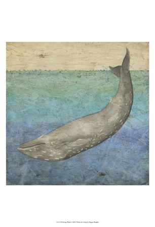 Diving Whale I by Megan Meagher art print