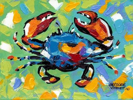 Seaside Crab II by Carolee Vitaletti art print