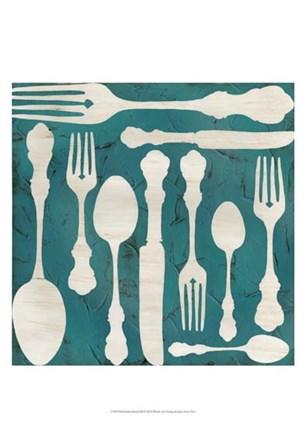 Kitchen Kitsch III by June Erica Vess art print