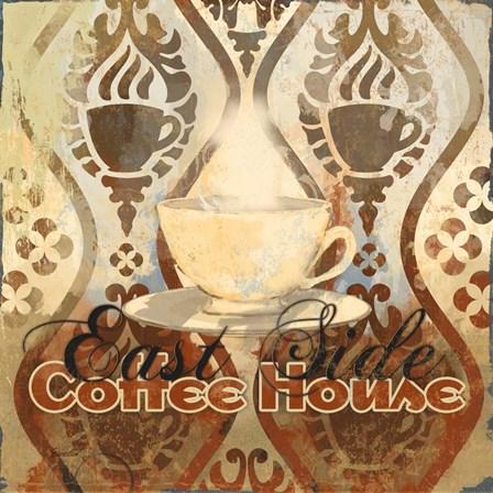 Coffee House III by Evelia Designs art print