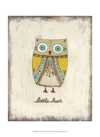 The Hoots II by June Erica Vess art print