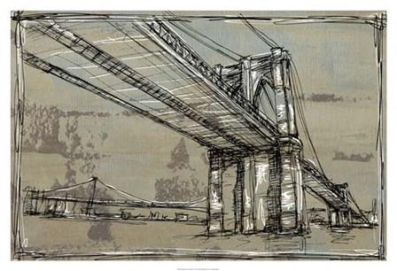 Kinetic City Sketch I by Ethan Harper art print