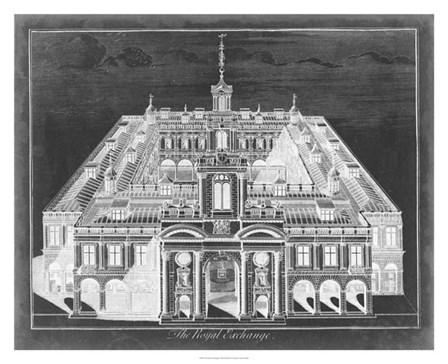 The Royal Exchange by Vision studio art print