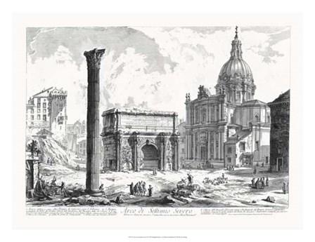 Arco de Settimo Severo by Francesco Piranesi art print