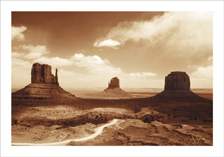 Monument Valley by John Jones art print