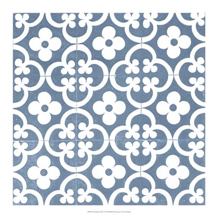 Chambray Tile I by Vision Studio art print
