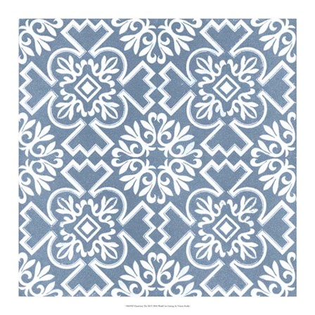 Chambray Tile III by Vision studio art print