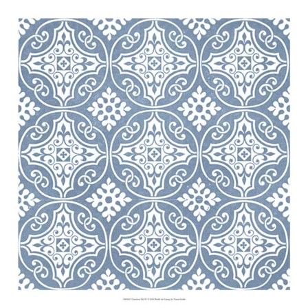 Chambray Tile IV by Vision Studio art print