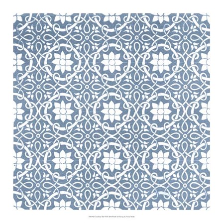 Chambray Tile VII by Vision Studio art print